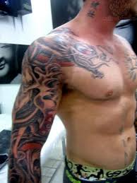 half sleeve designs chest free live 3d hd pictures