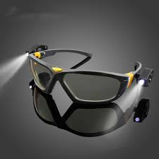 bright led lights safety goggles reading eye glasses for safe