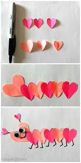 list of easy valentine u0027s day crafts for kids crafty morning