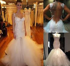 Custom Made Wedding Dresses Aliexpress Com Buy Custom Made Mermaid Wedding Dresses 2017 Robe