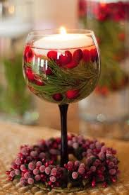 Wine Glass Decorating Ideas Stunning Glass Christmas Decoration Ideas Christmas Celebrations