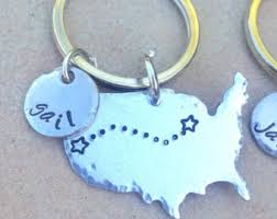 high school reunion gifts state keychains etsy
