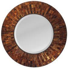 amazon com lulu decor 19 inch amber flower mosaic wall clock