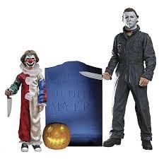 Mike Myers Halloween Costume Halloween Michael Myers Evolution Evil 2 Pack Neca Horror