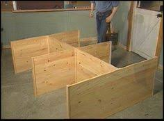 Make Wood Platform Bed cheap easy low waste platform bed plans platform beds