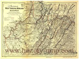 Map Of Wv West Virginia Midland Railway