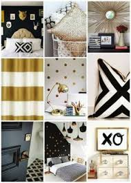 Black And Gold Room Decor Black Gold Bedroom On Pinterest Home Decor Gold Grey