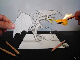 new 3d illusion pencil drawings by alessandro diddi