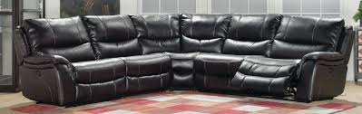 black 6 piece reclining sectional samuel rc willey furniture store