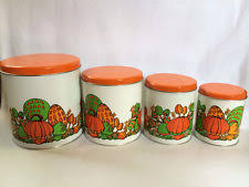 retro kitchen canisters retro canisters ebay