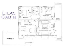 bca floor plan lilac cabin in fern valley is a single leve vrbo