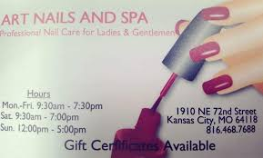 art nails and spa home facebook