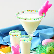 easter marshmallow candy marshmallow peep easter martini try dell cove spices recipes