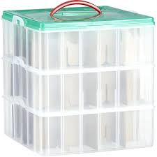 storage bins ornament storage bins ornament storage box with