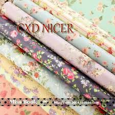 wholesale wrapping paper christmas vintage flower decorative wrapping paper book wholesale a4
