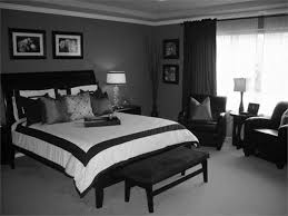 black white bedroom bedroom green natural plant create nuance black and white