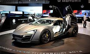 lykan hypersport interior lykan hypersport the first holographic display system with