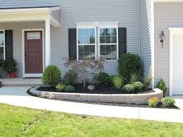 low maintenance landscaping ideas ranch front yard raised best