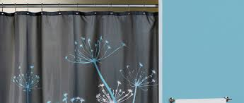 Aqua Blue Shower Curtains Shop Fabric Shower Curtains Curtain Bath Outlet