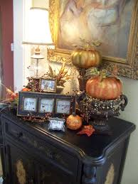 thanksgiving decorating ideas for the home dress up your entry table this fall u2026 blissfully