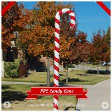 Plastic Candy Canes Wholesale Diy Pvc Candy Cane Great Outdoor Christmas Decoration