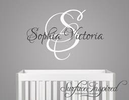 Wall Name Decals For Nursery Nursery Wall Decals Name Wall Decal For Boys