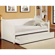 Cottage Style White Bedroom Furniture Furniture Of America Brooklyn Cottage Style Platform Bed Hayneedle