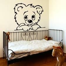 compare prices on giant wall murals online shopping buy low price large nursery baby teddy bear wall mural giant transfer art sticker poster decal vinyl stickers decal