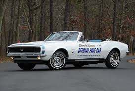 camaro pace car 1967 camaro indy 500 pace car used camaros for sale at