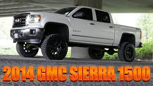 lifted white gmc rare pearl 2014 gmc sierra 1500 4x4 northwest motorsport youtube
