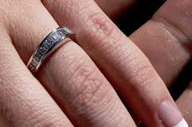 half eternity ring meaning princess cut wedding rings lovetoknow