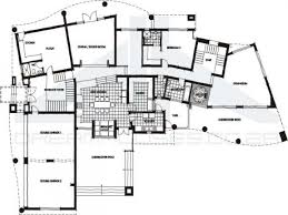 floor plan of ultra modern house kerala home design and plans with