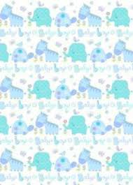 baby boy wrapping paper simon elvin baby boy wrapping paper 2 sheets of gift wrap 1