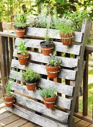 Vertical Succulent Garden Pallet Herb Garden Using Pallets Stylish 40 Ways To Maximize A Small
