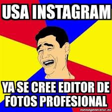Editor De Memes - meme yao ming usa instagram ya se cree editor de fotos