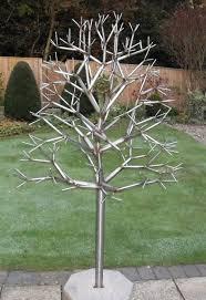 daren greenhow metal sculpture stainless steel tree