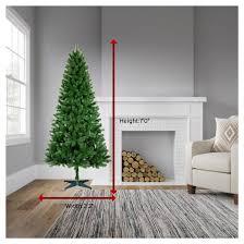 7ft unlit artificial tree alberta spruce wondershop