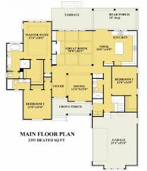 House Plans With Rear View Views To The Rear House Plans Floor Plans Home Plans Plan It