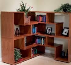 Corner Bookcase Cherry Cherry Wood Bookshelf Decor