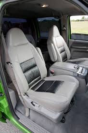 Ostrich Upholstery Tow U0027n U0027 Show A Ford F 350 Built For Dual Purposes