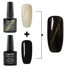 61509j new canni nail art designe 7 3ml 6 colors metal mirror