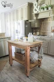 movable kitchen island diy rolling kitchen island