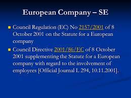 Council Regulation Ec No 44 2001 Brussels Eu Company Introduction And Sources Ppt