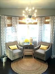 Bedroom Windows Decorating Kitchen Bay Window Curtains Curtains For Kitchen Bay Windows