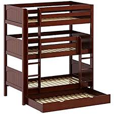 Three Tier Bunk Bed Bunk Bed With Trundle Kitchen Dining