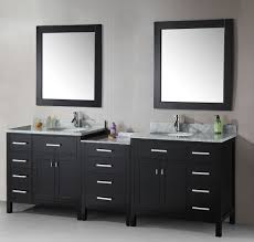 cheap bathroom vanity interior design ideas feats huge frameless amazing cheap bathroom vanity decor ideas feats double rectangle mirrors grey marble top