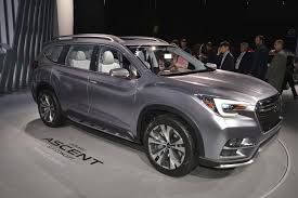 subaru forester modified production 2019 subaru ascent will go on sale in 2018 motor trend