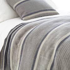 bedroom green white themed linen duvet cover for bed covering idea