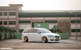 my volvo website oh my this is not your regular volvo v50 wagon stanced flush