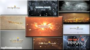 after effects free text templates top 10 free intro templates 2015 after effects no plugins download